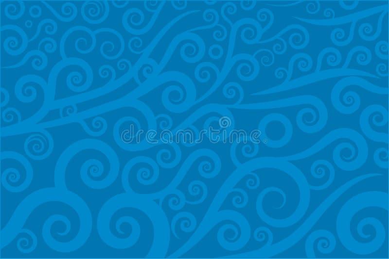 Swirl texture (vector) royalty free illustration