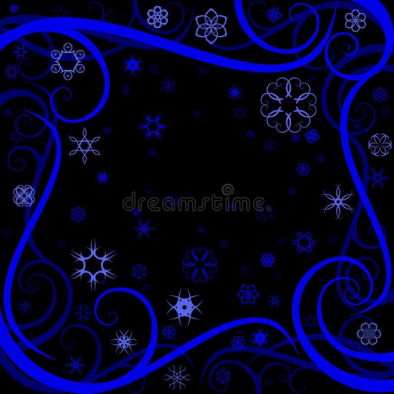 Download Swirl winter border stock vector. Image of xmas, decorative - 7293316