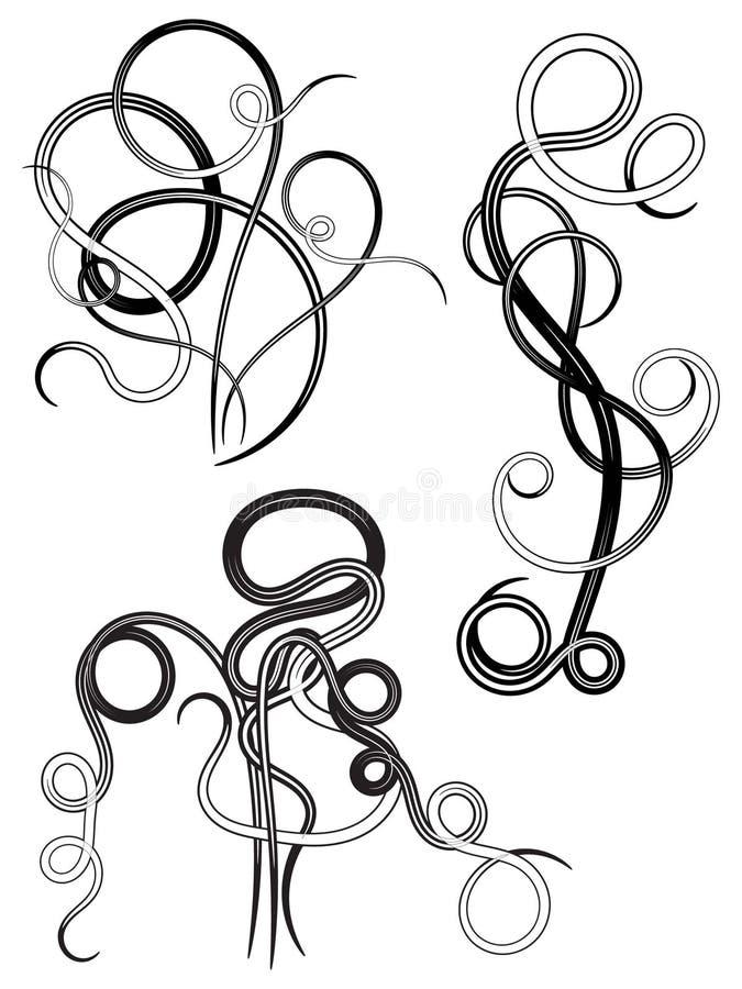 swirl4 免版税图库摄影
