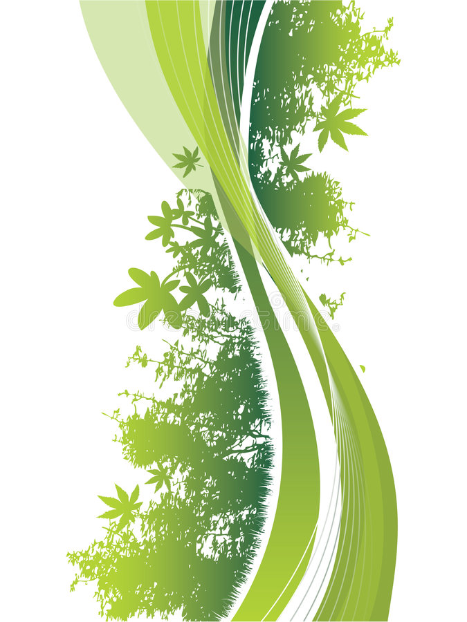 Download Swirling Lines With A Wildlife Theme Stock Vector - Illustration of nature, dreams: 9146294