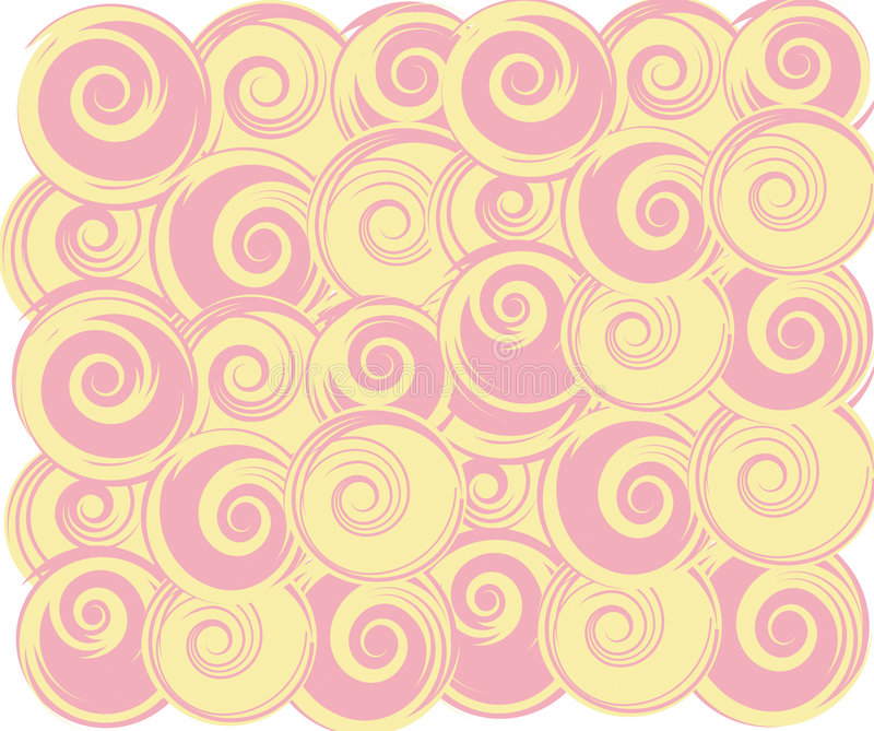 Swirling round stock photography