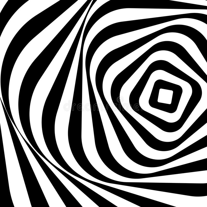 Swirling, spiraling monochrome geometric element. Abstract graph. Ic. - Royalty free vector illustration vector illustration