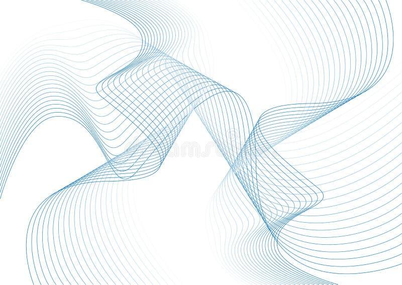 Swirls royalty free illustration