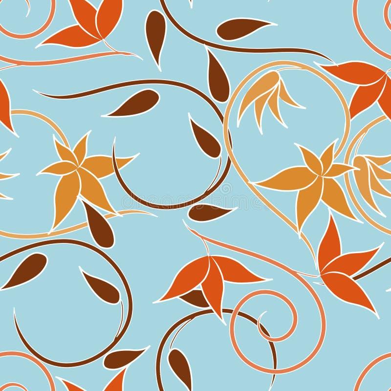 swirls royaltyfri illustrationer