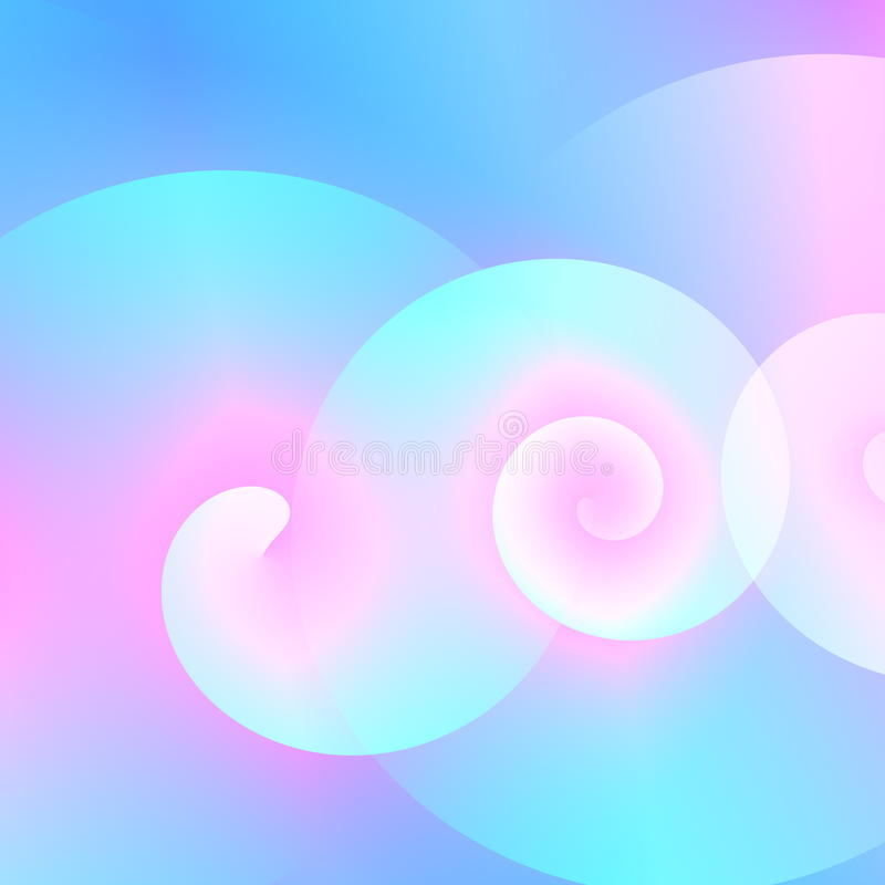Swirls background illustration business. Bright blank image. Computer generated shapes. Ornate decoration picture. Abstract wave. royalty free illustration