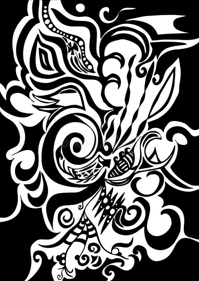 Swirls Organic Design Stock Photo