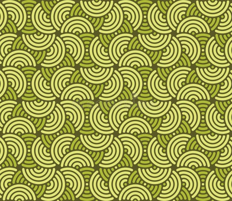 swirly墙纸 向量例证