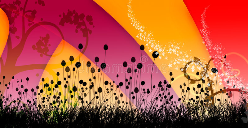 Download Swirly Colorful Background Cover Design Image 1 Stock Illustration - Image: 4034428