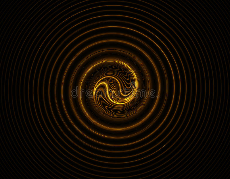 Swirly curves fractal