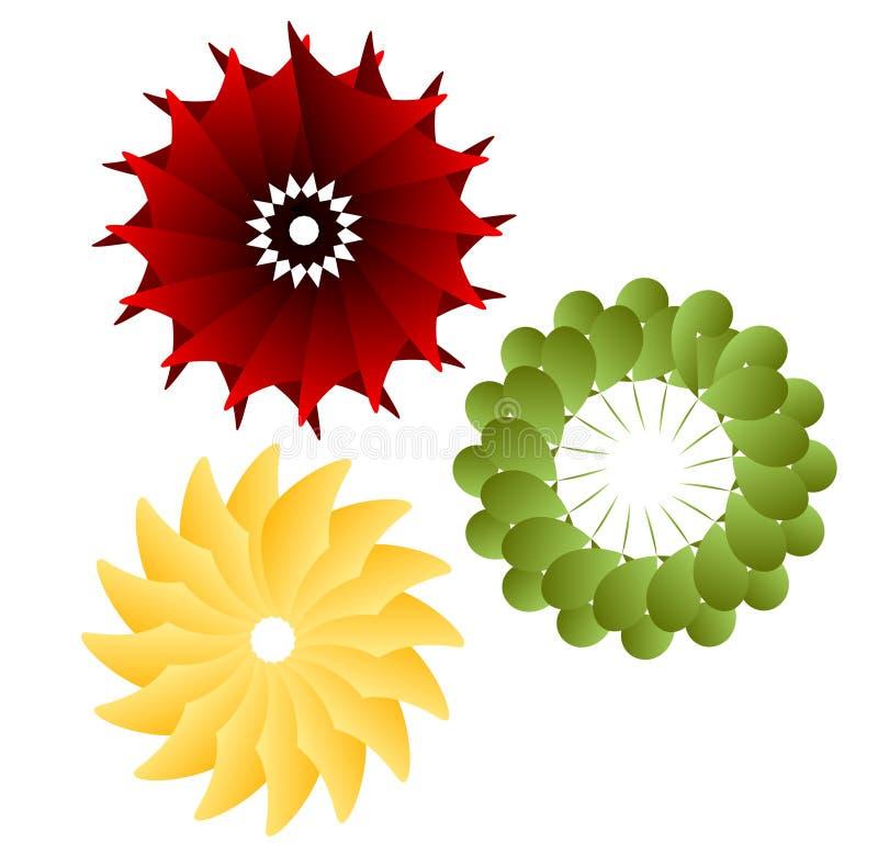 Swirly Element stock abbildung