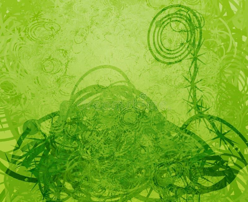 Swirly grunge royalty-vrije illustratie