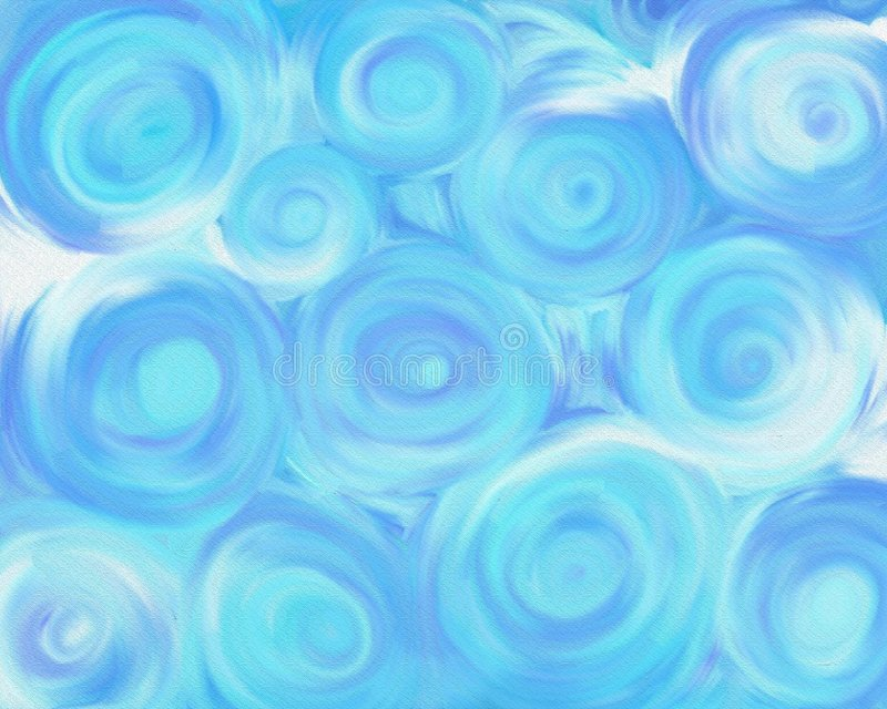 Swirly Himmel stockfotos