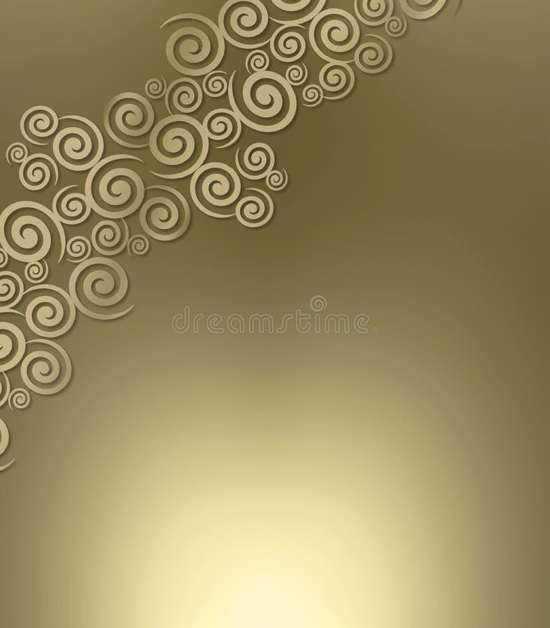 Free Swirly Metallic Background Stock Image - 5518011