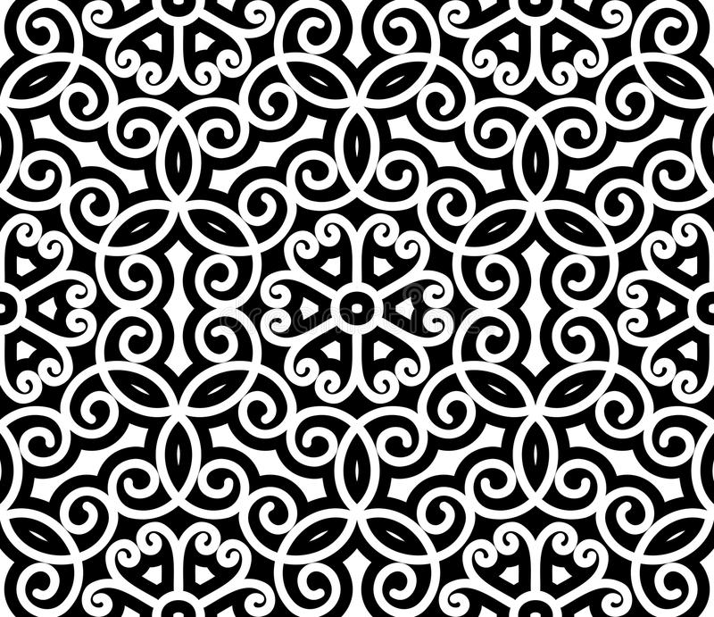 Swirly-Muster vektor abbildung