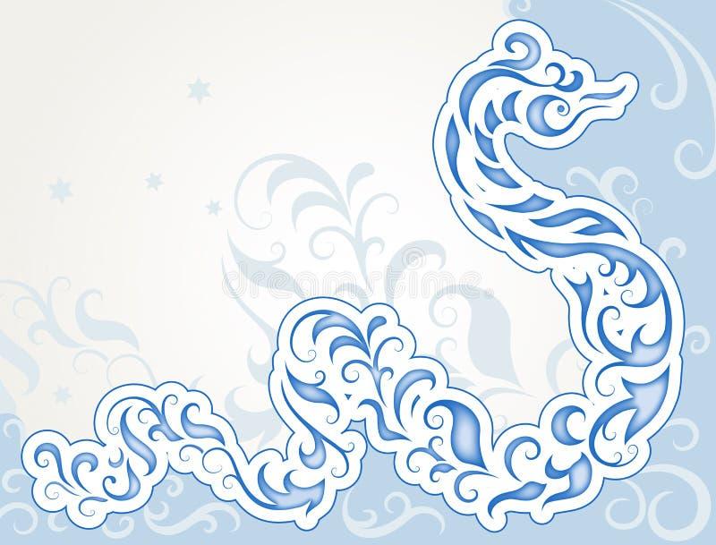 Swirly Schlange vektor abbildung