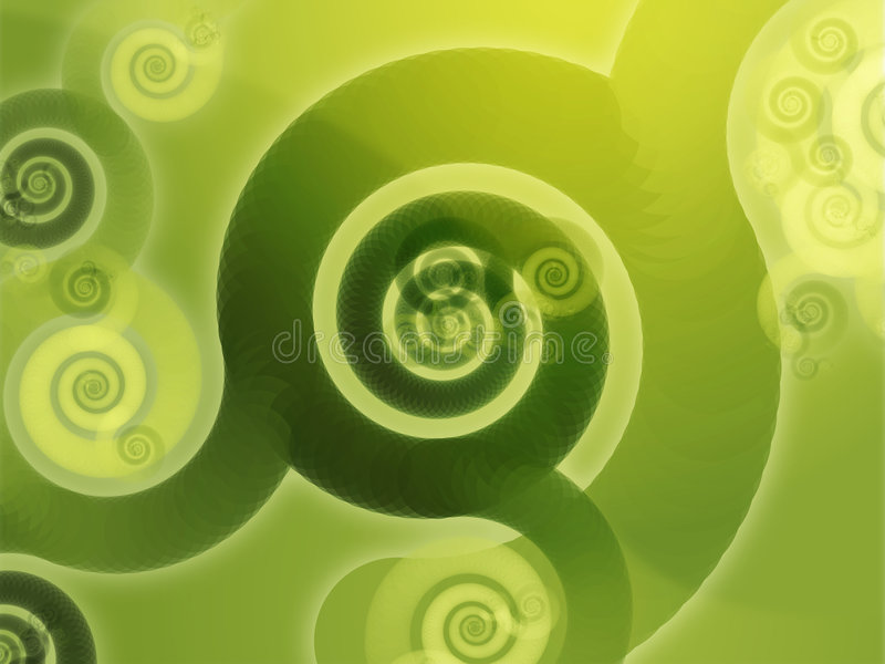 Swirly spirals. Abstract wallpaper background with swirly grungy spirals royalty free illustration