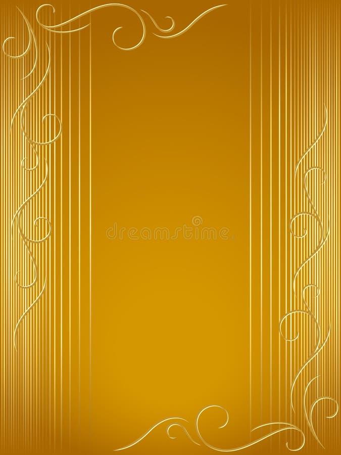 swirly tło abstrakcjonistyczne dekoracje royalty ilustracja