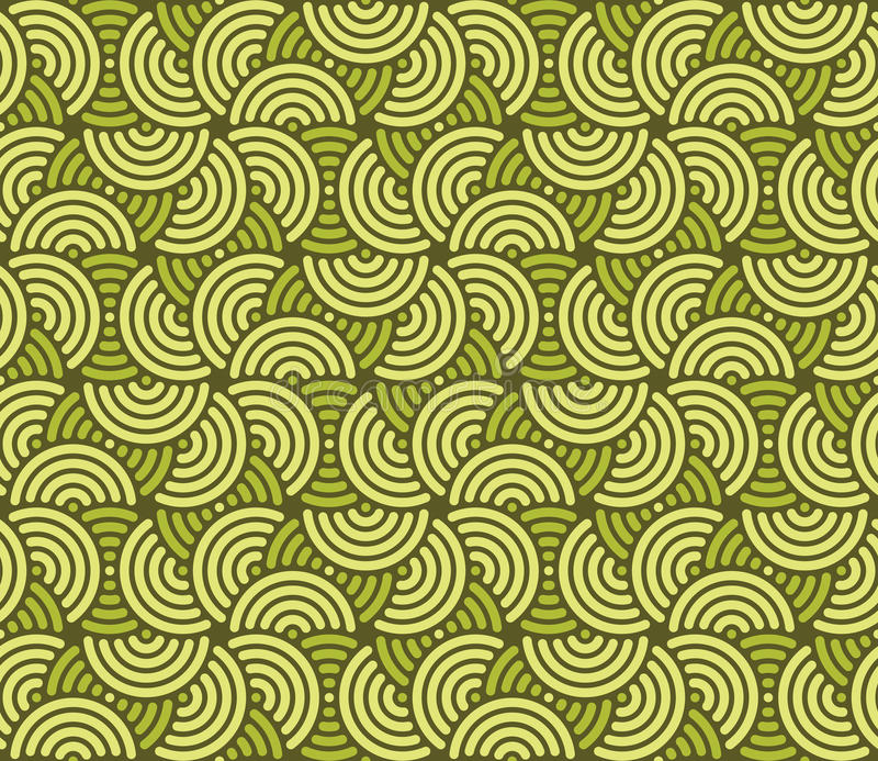 Swirly wallpaper vector illustration