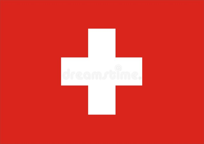 Download Swiss stock illustration. Illustration of flags, emblem - 873930