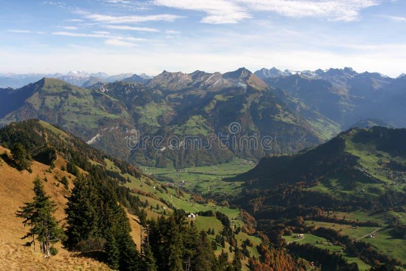 Swiss Alps stock photo