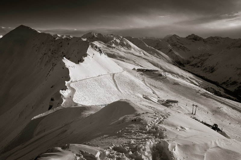 The Swiss Alps stock images