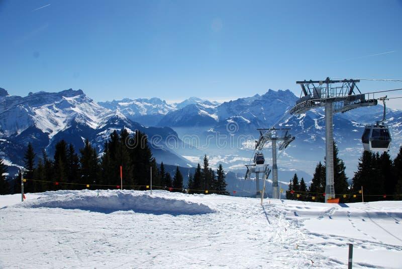Swiss Alps stock image