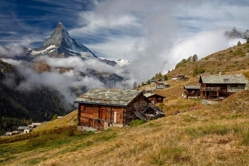 Swiss Alps. royalty free stock images