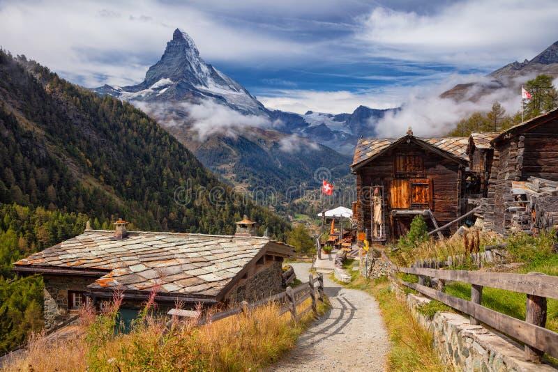Swiss Alps. royalty free stock photos