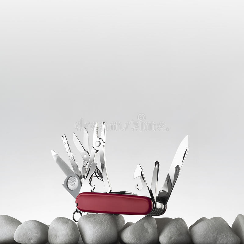 Download Swiss army knife stock photo. Image of boxcutter, slice - 24521712