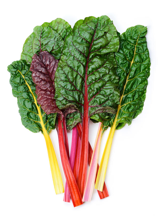 Free Swiss Chard Rainbow Royalty Free Stock Images - 33686309