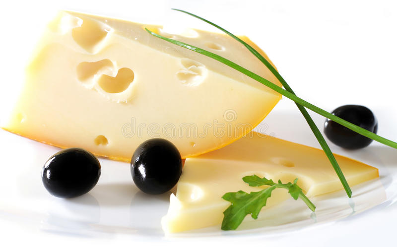 Swiss cheese stock images