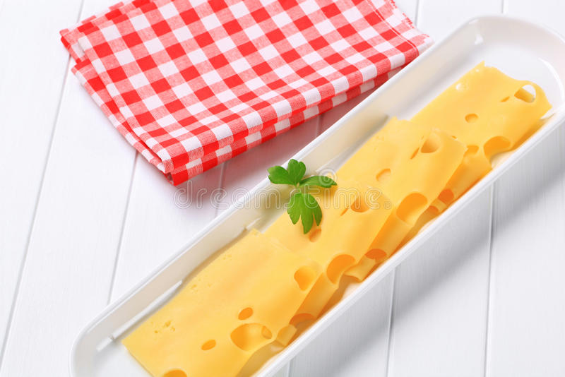 Swiss Cheese Royalty Free Stock Image