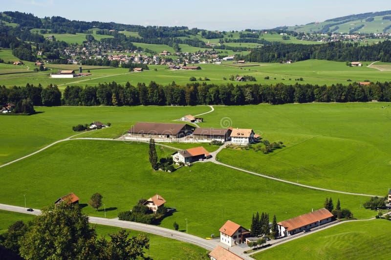Swiss Countryside stock image