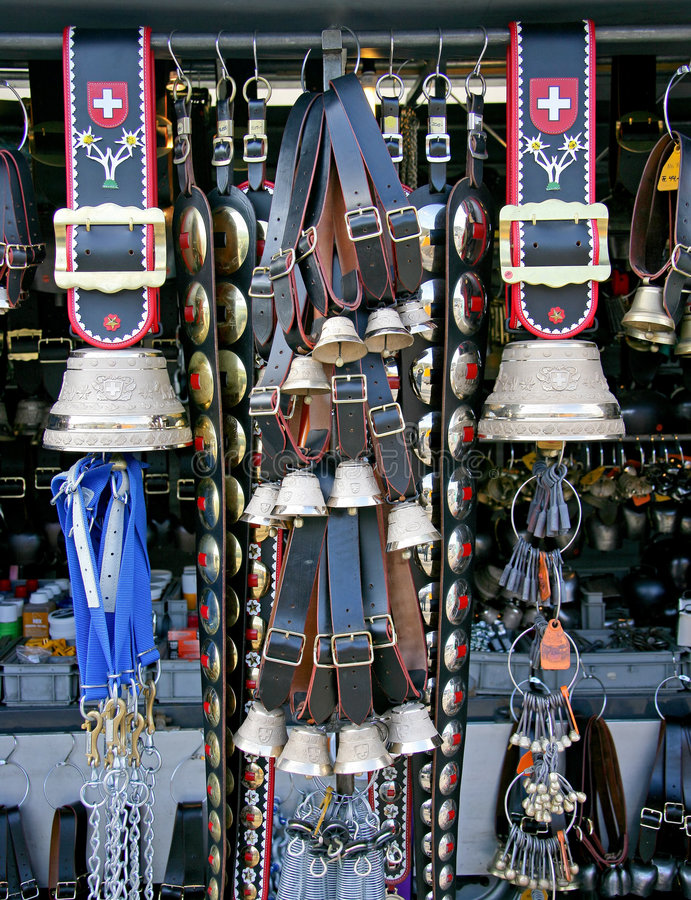 Swiss Cow Bells 1 stock photography