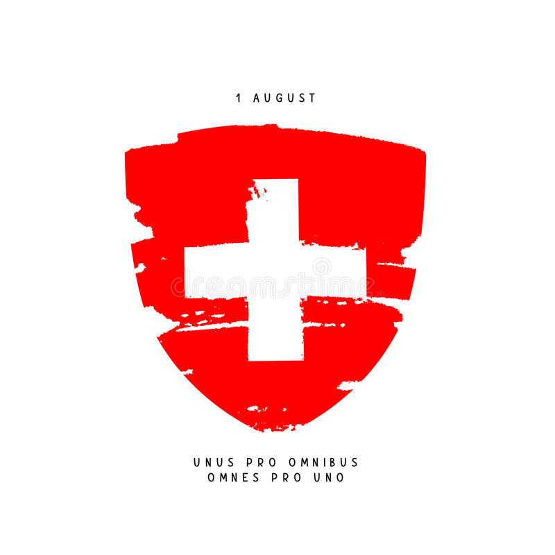 Free Swiss Day, August 1 Stock Image - 95228471