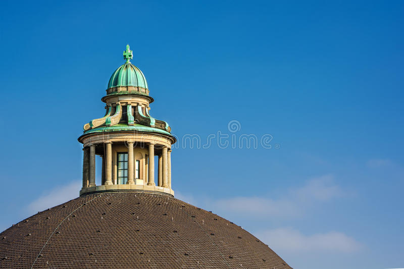 Swiss Federal Institute of Technology. November 2015, cupola of the Swiss Federal Institute of Technology (ETH) in Zurich (Switzerland), HDR-technique royalty free stock photography