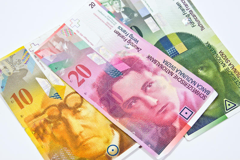 Download Swiss Franc stock photo. Image of accumulate, currency - 28540474