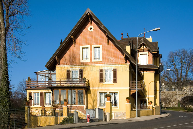 Download Swiss House Stock Image - Image: 8569021