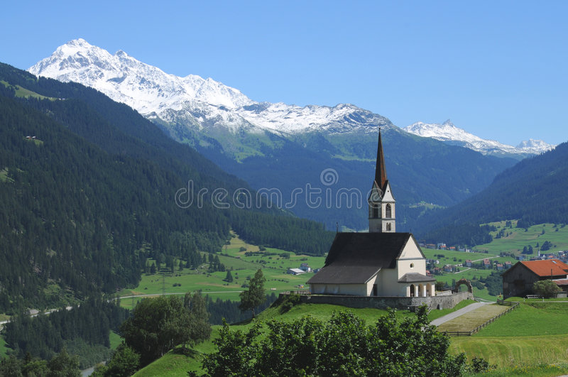 Download Swiss landscape stock photo. Image of europe, religion - 6474312