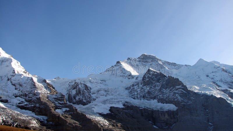 Swiss Mountain Jungfrau stock images