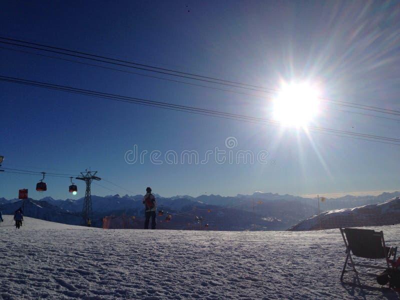 Swiss Mounten stock photos