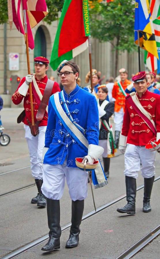 Download Swiss National Day Parade In Zurich Editorial Photo - Image of band, glory: 20915371