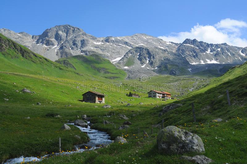 Swiss Panorama Stock Photography