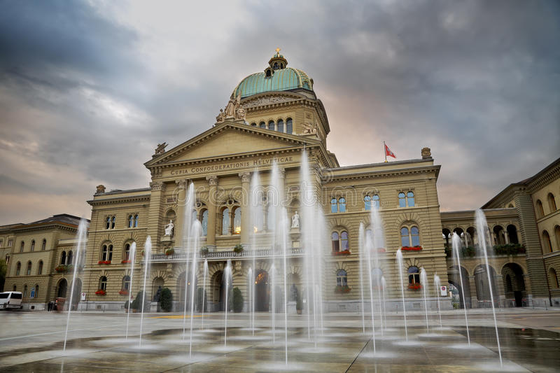 Swiss Parliament royalty free stock photos