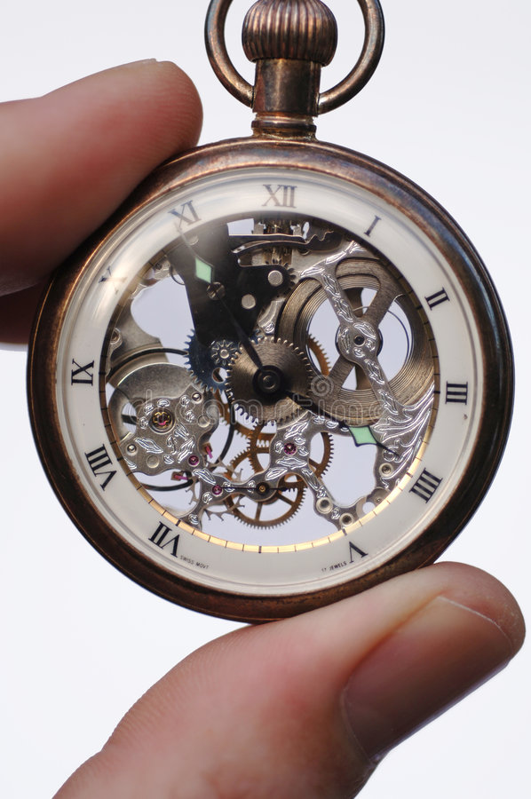 Swiss Pocket Watch stock photography
