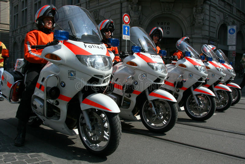Download Swiss Police On Motorcycles Editorial Stock Photo - Image: 25787623