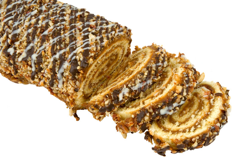 Download Swiss roll stock image. Image of sugar, refreshment, close - 2291377