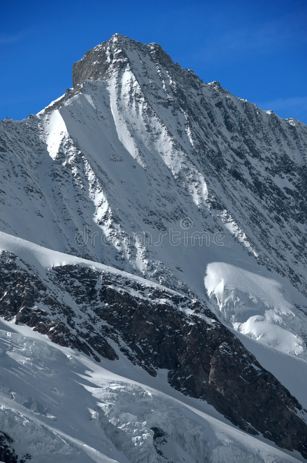 Swiss Summits: The Taschhorn Royalty Free Stock Photo