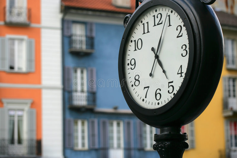 Swiss time royalty free stock images