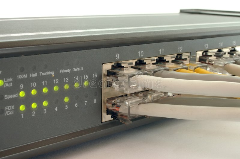 Download Switch stock photo. Image of isolated, sockets, server, mpbs - 45494